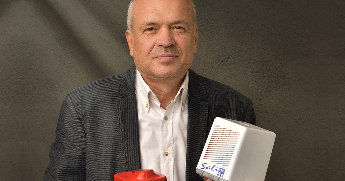 Romanian Business of over 1 million euros with saline air purifiers