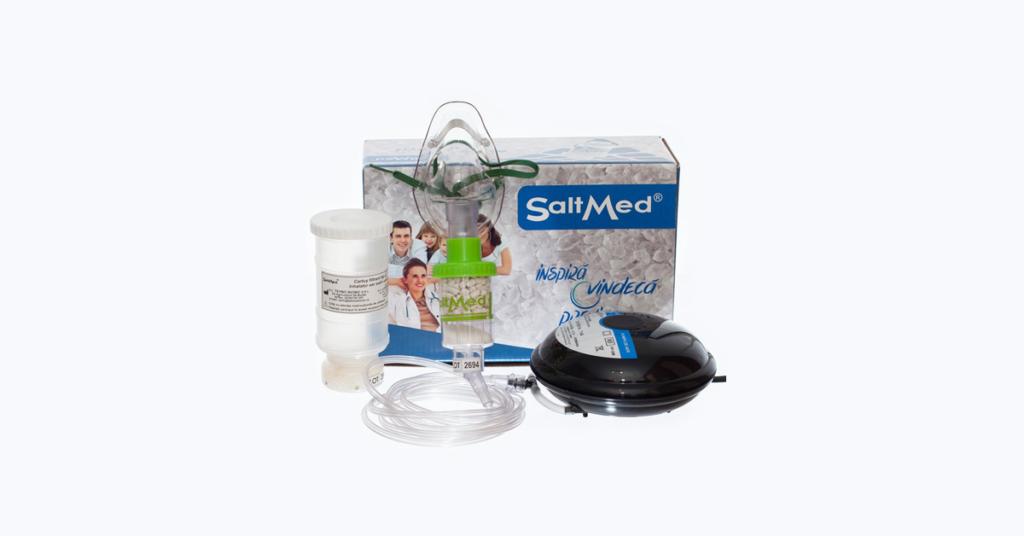 SaltMed – Terapia cu aerosoli salini